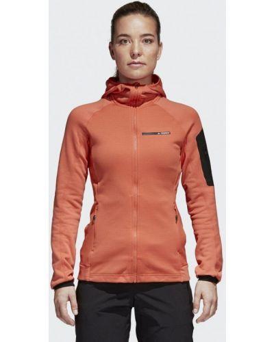 Толстовка коралловый Adidas