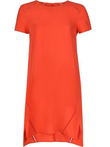 Платье из полиэстера - красное Trussardi Jeans