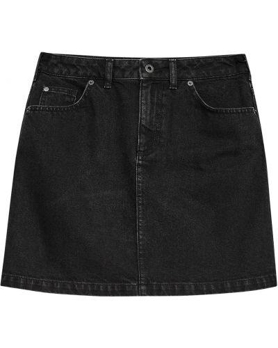 Niebieska spódnica mini bawełniana ocieplana Jack Wills