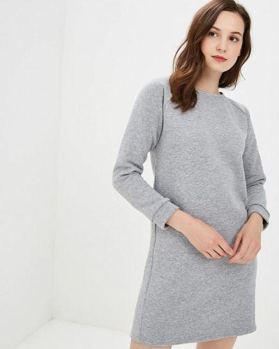 Платье - серое Nemes