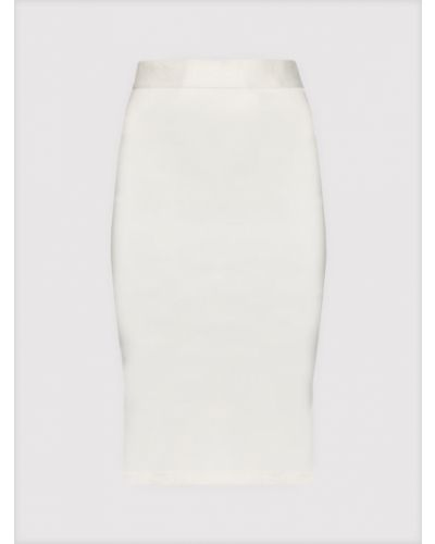 Biała spódnica ołówkowa Guess