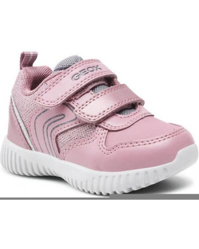 Różowe sneakersy Geox