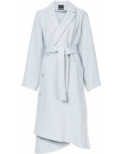 Длинное пальто с поясом с воротником Aula