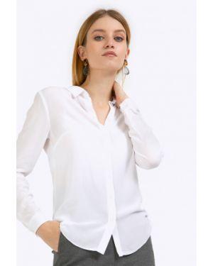 Блузка с длинным рукавом приталенная с манжетами Emka