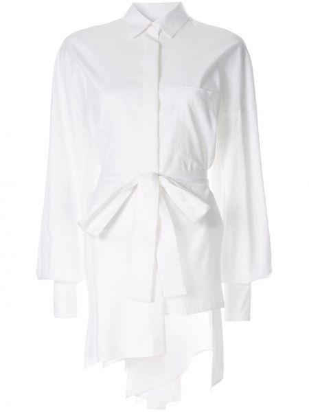 Koszula biała z kołnierzem Enfold