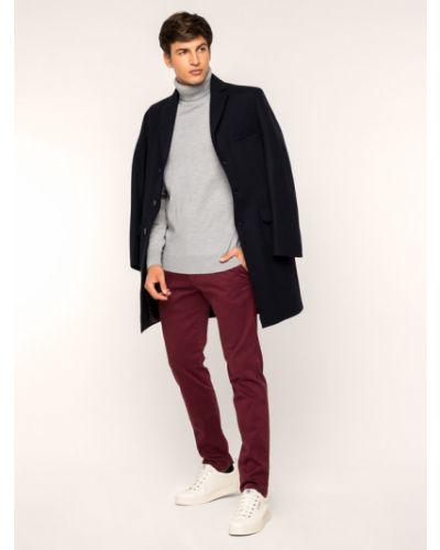 Spodnie materiałowe bordowe Roy Robson