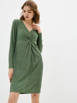 Зеленое весеннее платье Mama.licious