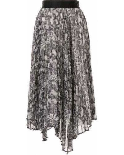 Приталенная плиссированная юбка Le Ciel Bleu