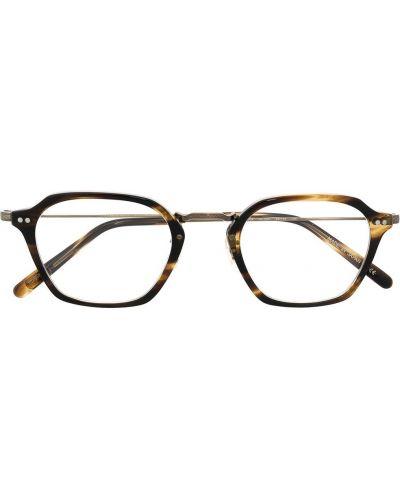 Prosto brązowy oprawka do okularów Oliver Peoples