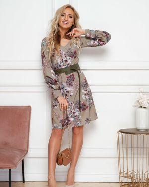 Платье с V-образным вырезом платье-сарафан Leleya