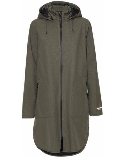 Płaszcz przeciwdeszczowy - zielony Ilse Jacobsen Hornbæk