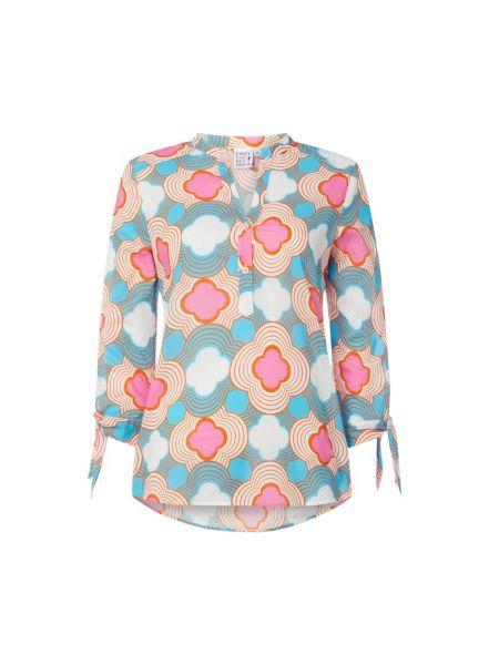 Bluzka w kwiatowe wzory z wzorem Emily Van Den Bergh