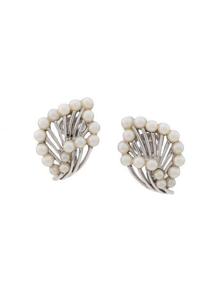 Kolczyki ze sztyftem kolczyki pierścionki z perłami Susan Caplan Vintage
