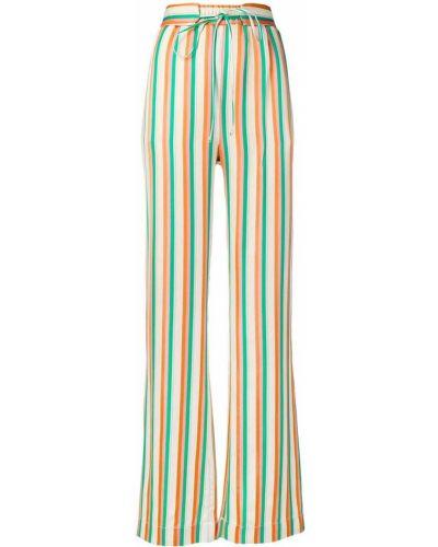 Свободные брюки расклешенные с карманами Pinko