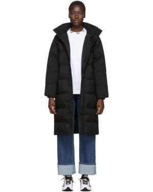 Длинное пальто стеганое без воротника Carhartt Work In Progress