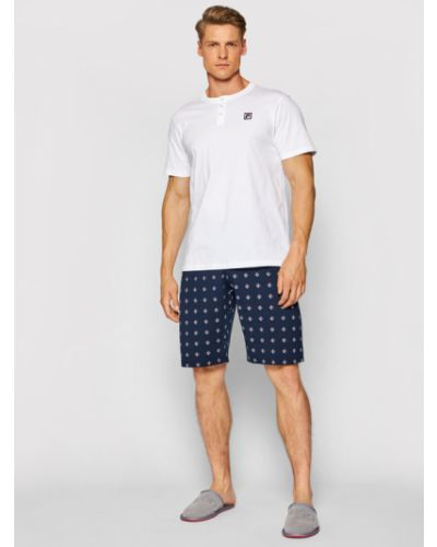 Piżama - biała Fila