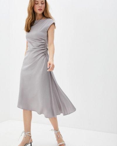Серое вечернее платье Seventy