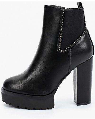 Черные демисезонные ботильоны Sweet Shoes