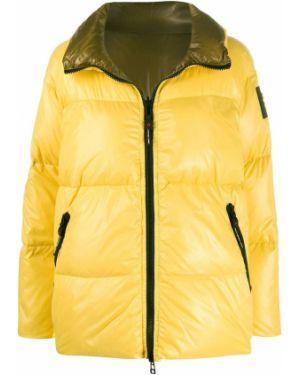 Желтое пальто Peuterey