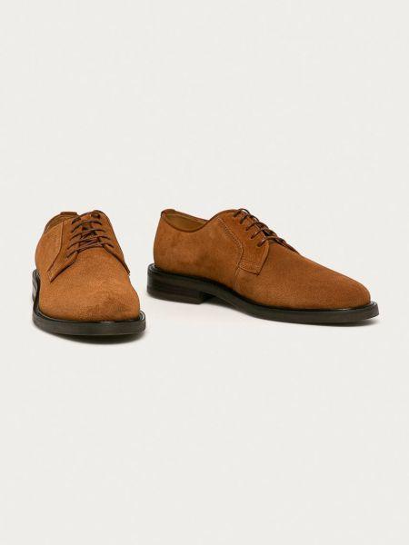 Замшевые туфли Gant