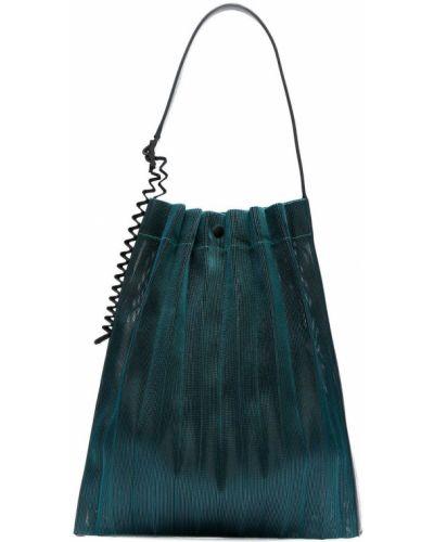 Niebieska torba na ramię Pleats Please Issey Miyake