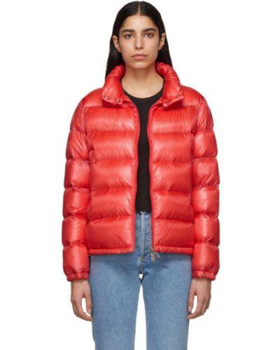 Длинная куртка стеганая нейлоновая Moncler