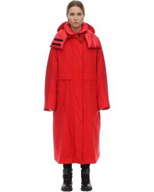 Пальто оверсайз на молнии Moncler Grenoble