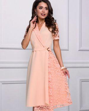 Вечернее платье летнее с поясом Charutti