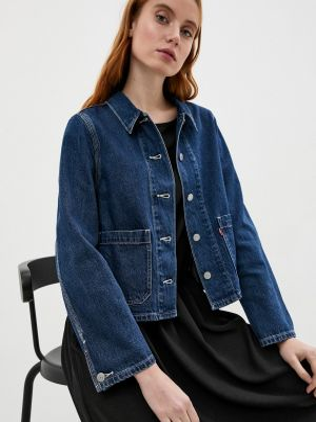 Джинсовая куртка осенняя синий Levi's®