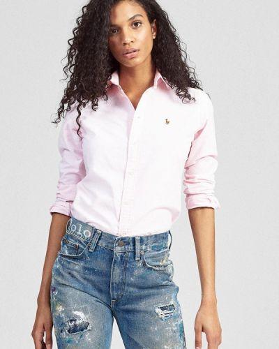 Розовая рубашка Polo Ralph Lauren