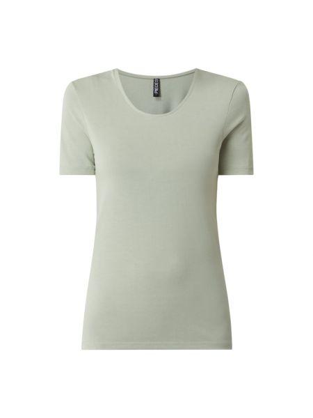 Zielony t-shirt Pieces