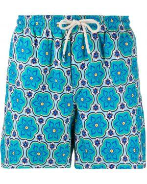 Kąpielówki prosto niebieski Peninsula Swimwear