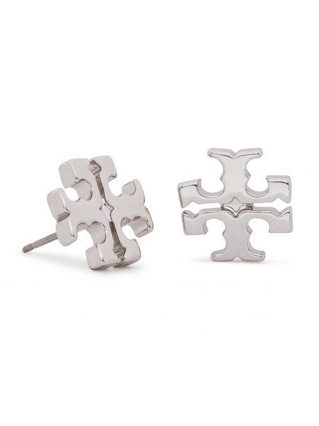 Kolczyki ze sztyftem ze srebra Tory Burch