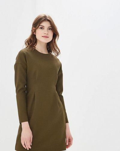 Прямое зеленое платье Ruxara
