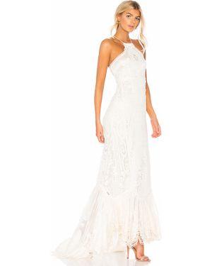 Sukienka mini koronkowa z jedwabiu z siateczką Spell & The Gypsy Collective