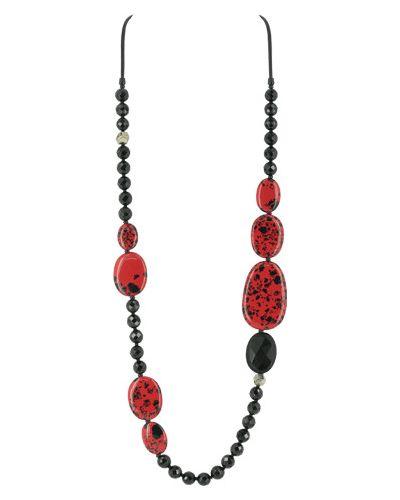 Ожерелье - красное Nature Bijoux