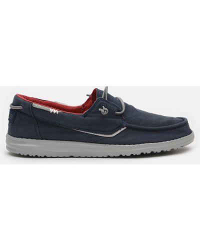 Повседневные туфли - синие Hey Dude
