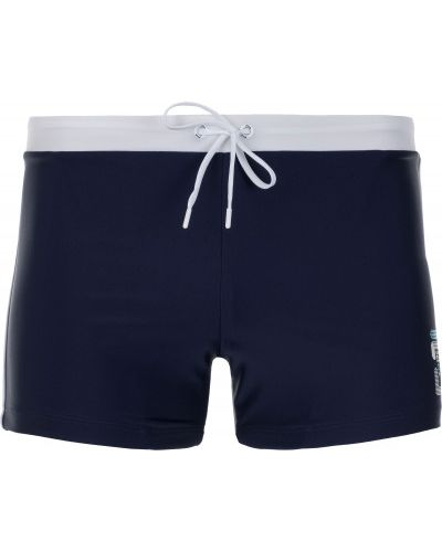 Плавки-боксеры синие плавки-шорты Fila