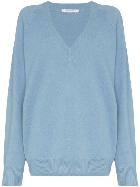 Sweter z kaszmiru z raglanowymi rękawami Givenchy