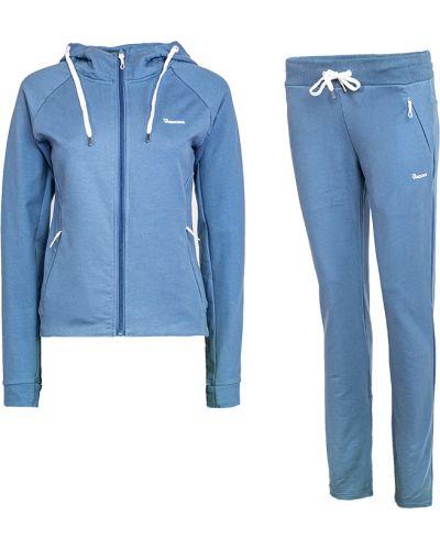 Хлопковый спортивный костюм - голубой Radder