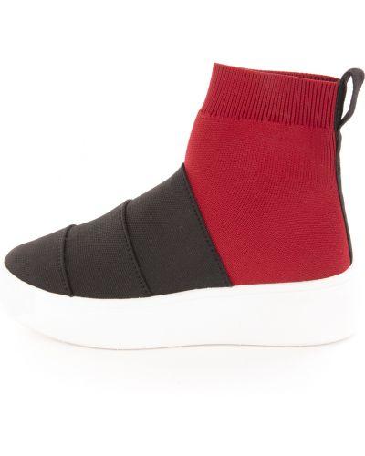 Sneakersy na platformie Fessura
