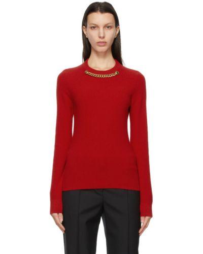 Z kaszmiru długi sweter z długimi rękawami Givenchy