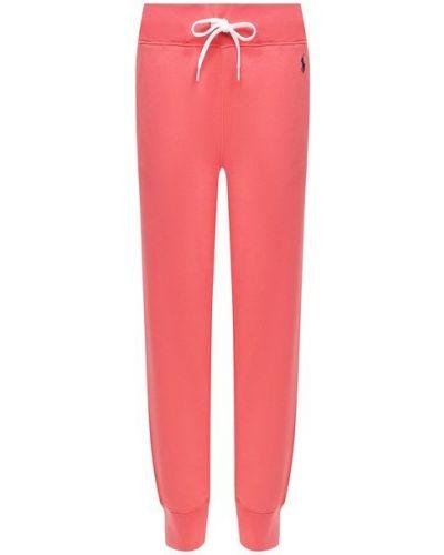 Красные хлопковые брюки Polo Ralph Lauren