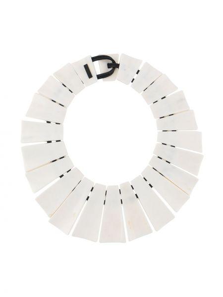 Biały krótkie szorty Monies