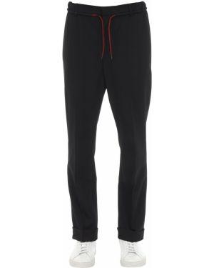 Spodnie z kieszeniami wełniane Mcq Alexander Mcqueen