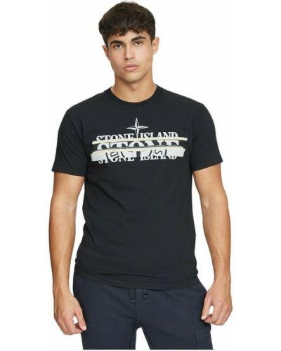 T-shirt bawełniana - biała Stone Island