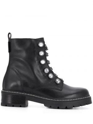 Buty na obcasie na pięcie czarne Kurt Geiger London