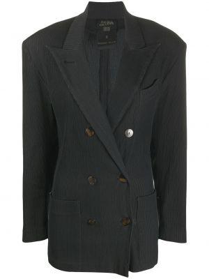 Пиджак черный винтажный Jean Paul Gaultier Pre-owned