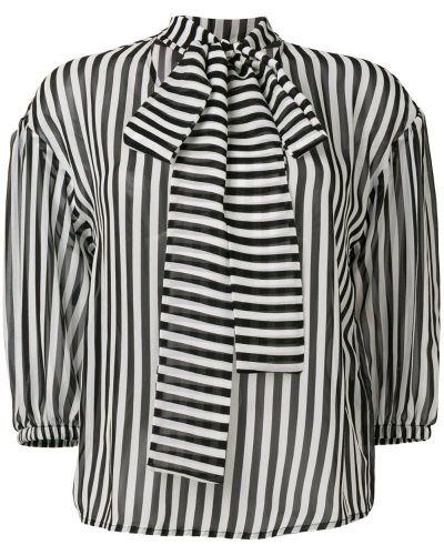 Блузка в полоску с манжетами Federica Tosi
