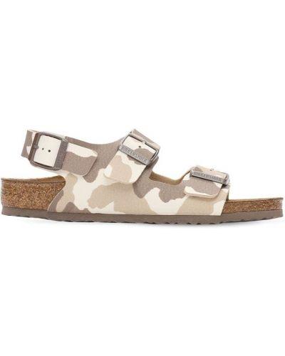 Кожаные сандалии с пряжкой Birkenstock